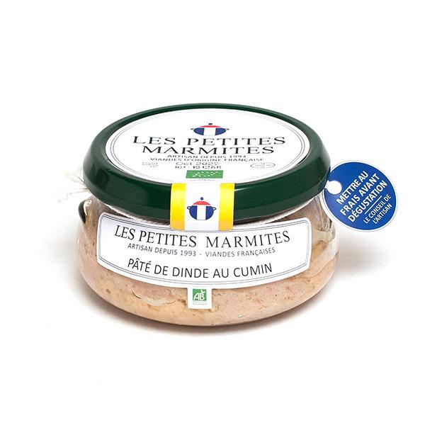 Les Petites Marmites - Pâté de dinde au cumin 150g