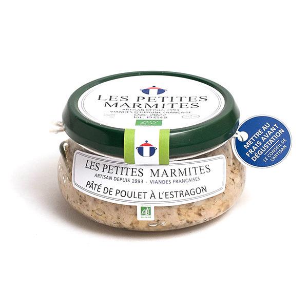 Les Petites Marmites - Pâté de poulet à l'estragon 150g