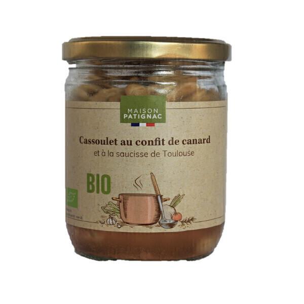 Maison Patignac - Cassoulet au confit de canard et saucisse de Toulouse 350g
