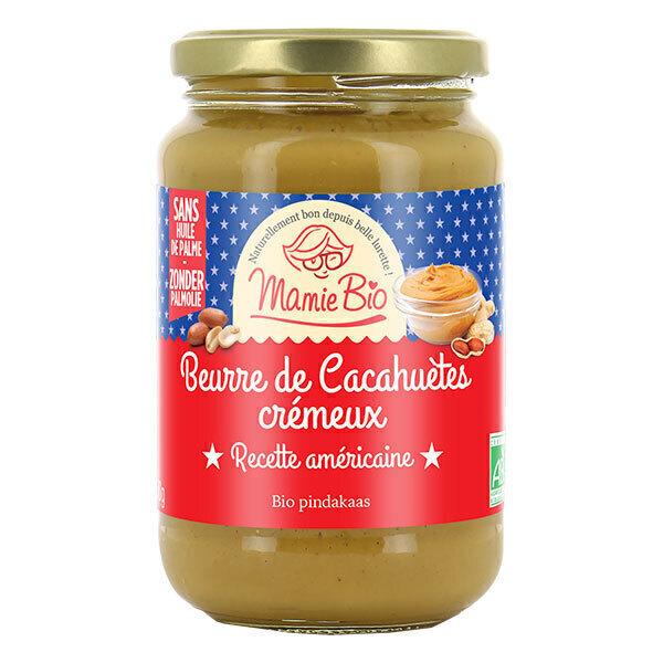 Mamie Bio - Beurre de cacahuète américain crémeux 350g