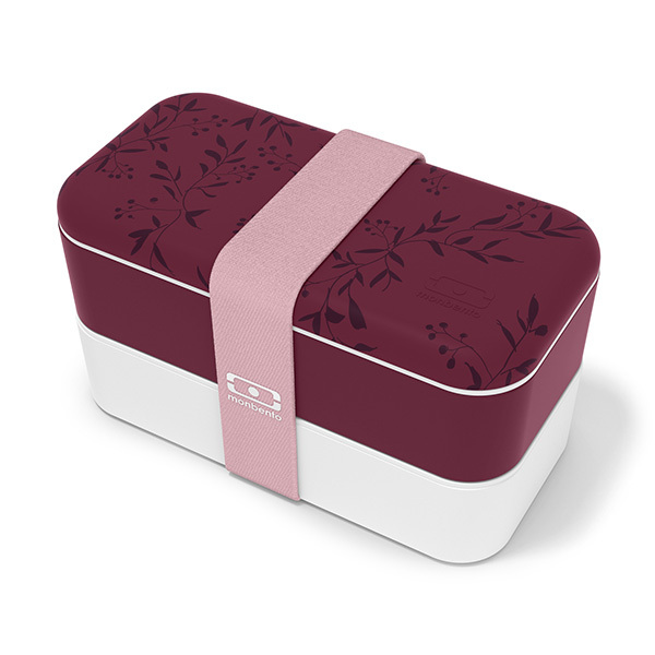 monbento - Bento MB Original -made in France Graphic Winter Berry 1L