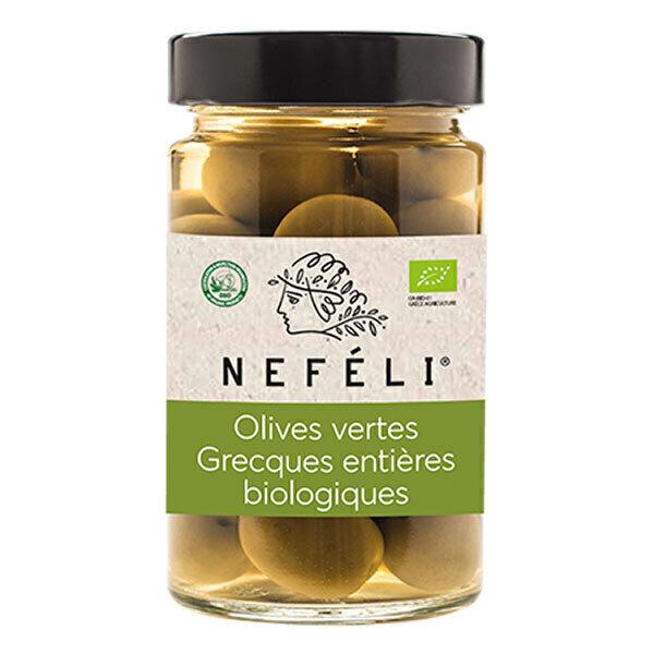 NEFÉLI - Olives vertes dénoyautées 295g