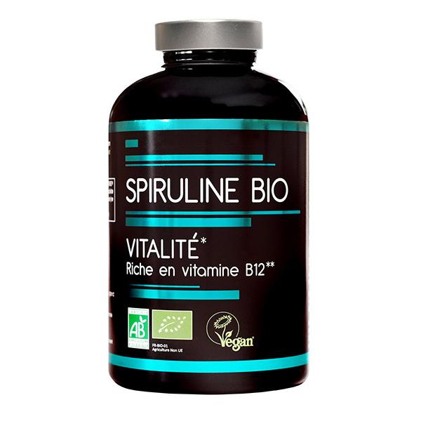 NutriVie - Spiruline bio 500 comprimés
