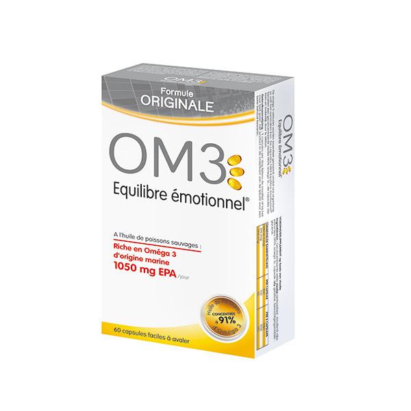 OM3 - Équilibre émotionnel formule original 60 capsules