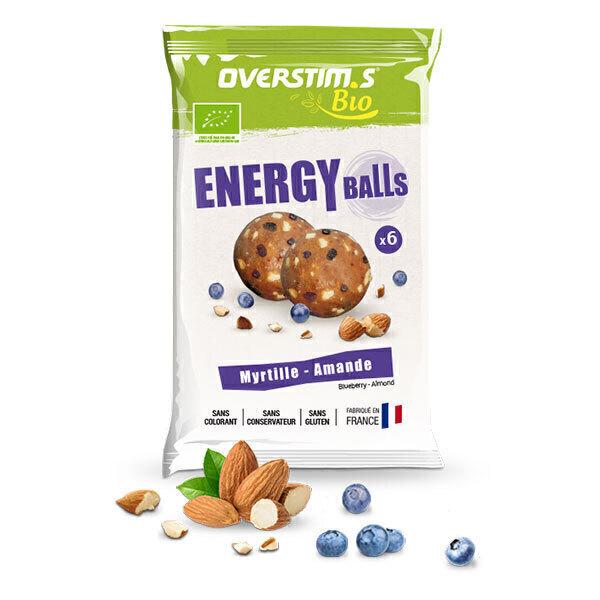 Overstims - Sachet de Energy balls bio myrtille amande