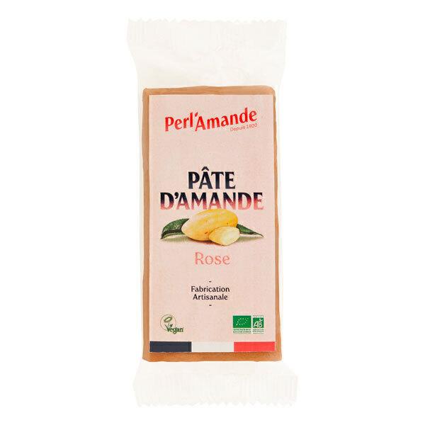 Perlamande - Pâte d'amande rose 200g