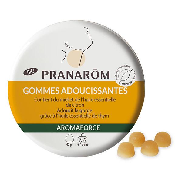 Pranarôm - Gommes adoucissantes Miel Citron 45g