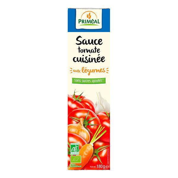 Priméal - Sauce tomate cuisine tube 180g