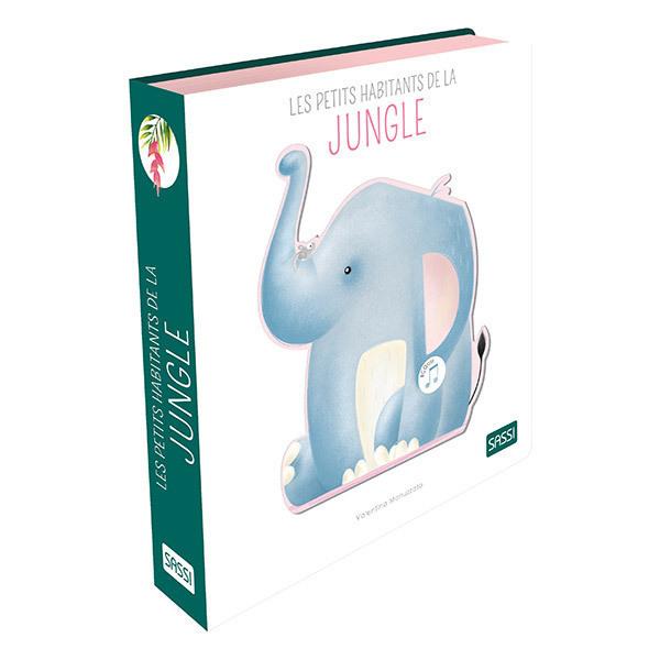 SASSI Junior - Livre sonore Les petits habitants de la jungle - Dès 3 ans