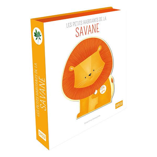 SASSI Junior - Livre sonore les petits habitants de la savane - Dès 3 ans