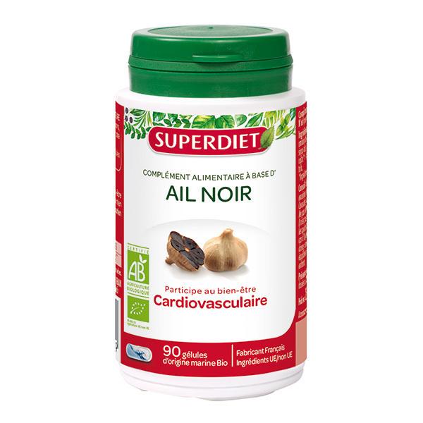 SUPERDIET - Ail noir bio 90 gélules