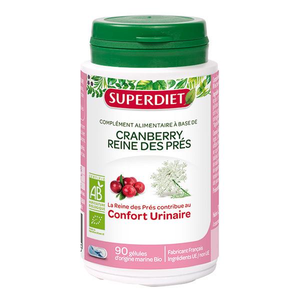 SUPERDIET - Cranberry et reine des prés bio 90 gélules