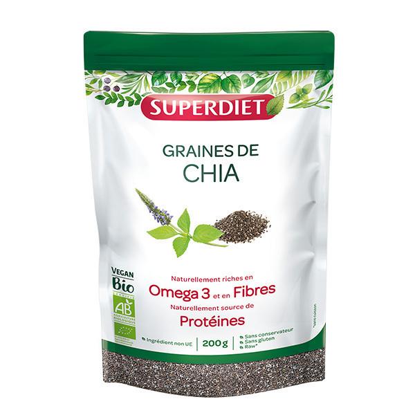 SUPERDIET - Graines de chia bio 200g