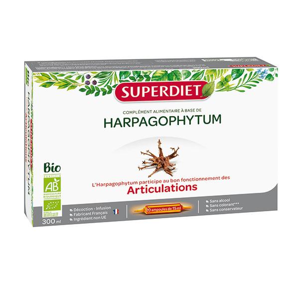 SUPERDIET - Harpagophytum bio 20x15ml