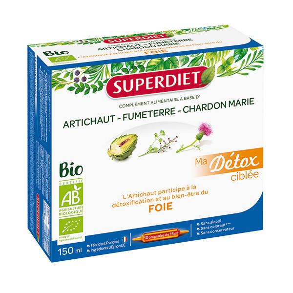 SUPERDIET - Détox ciblée foie 10x15ml