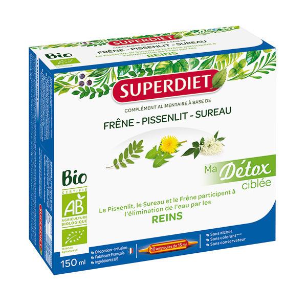 SUPERDIET - Détox ciblée reins 10x15ml