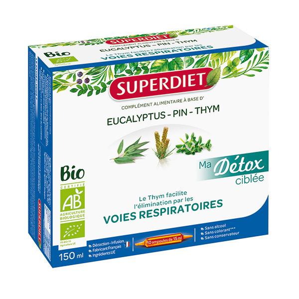 SUPERDIET - Détox ciblée voies respiratoires 10x15ml