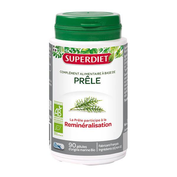 SUPERDIET - Prêle bio 90 gélules