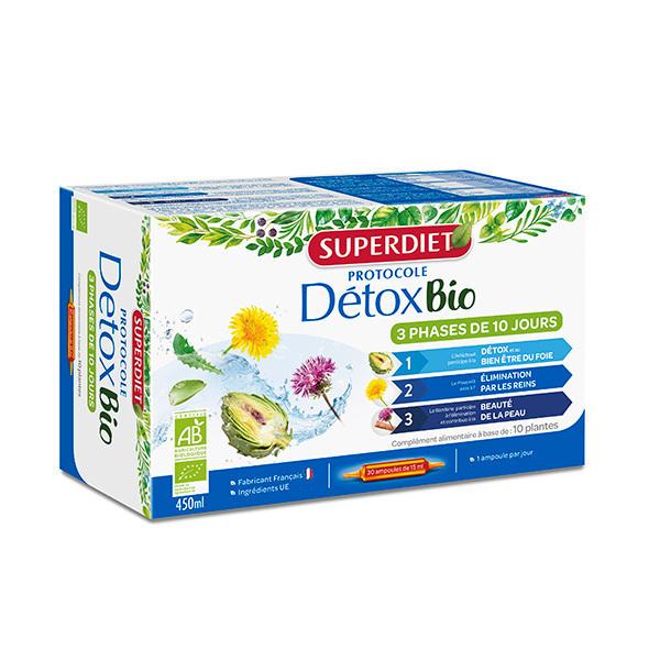 SUPERDIET - Protocole détox 30x15ml