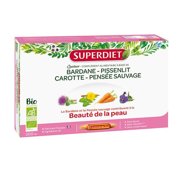 SUPERDIET - Quatuor beauté de la peau 20x15ml