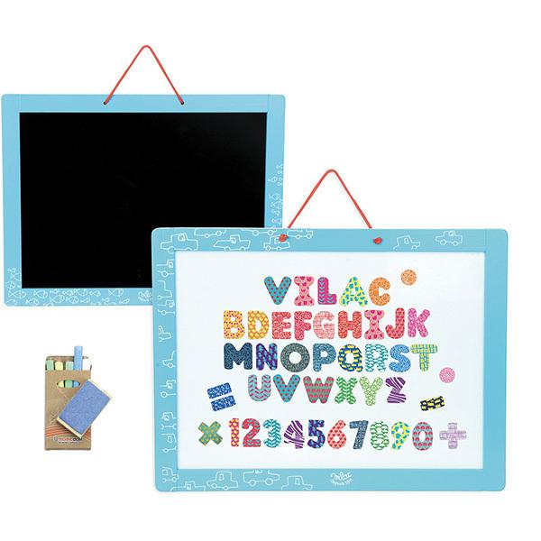 Vilac - Ardoise magnétique bleue - Dès 3 ans