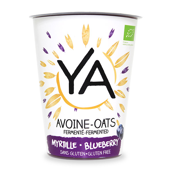 Ya - Douceur végétale fermentée Avoine Myrtille 400g