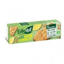 Evernat - Croquants avoine citron chia 130g