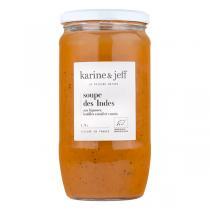 Karine & Jeff - Soupe des Indes aux légumes, lentilles corail et cumin 78cl