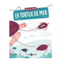 """La Cabane Bleue - Livre """"Suis du doigt la tortue de mer"""" - Dès 3 ans"""