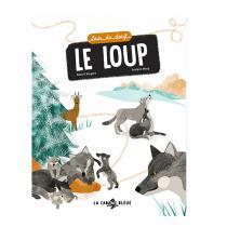 """La Cabane Bleue - Livre """"Suis du doigt le loup"""" - Dès 3 ans"""