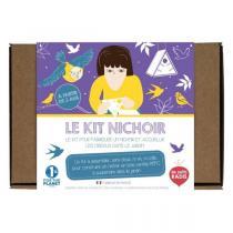 Les Petits Radis - Kit pour fabriquer un nichoir à oiseaux - Dès 3 ans