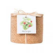 Life in a Bag - Kit de culture Grow Cork fraise