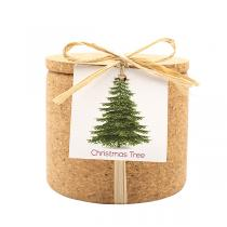 Life in a Bag - Kit de plantation Grow Cork sapin de Noël