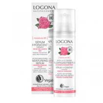 Logona - Sérum lissant rose de Damas et Kalpariane 30ml
