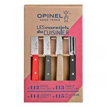 Opinel - Coffret 4 couteaux de cuisine Les Essentiels Loft