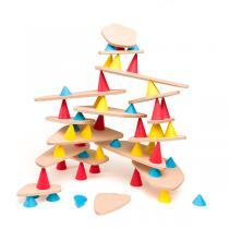 Kit de Construction Piks Big en bois, 64 pièces - Dès 3 ans