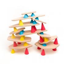Kit de Construction Piks Medium en bois, 44 pièces - Dès 3 ans