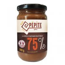Pépite - Pâte à tartiner 75% noix de cajou et noisettes 300g