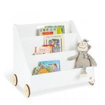 Pinolino - Bibliothèque à roulettes Lasse