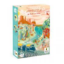 Pirouette cacahouete - Mon puzzle - Retour au far west - Dès 6 ans