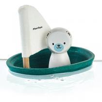 Plan Toys - Bateau ours polaire pour le bain - Dès 12 mois