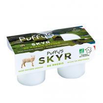 Puffy's - Yaourts Skyr brebis 2x125g