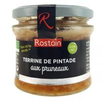 Rostain - Terrine de pintade aux pruneaux 180g