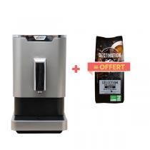 Scott - Machine à café Slimissimo Silver + 1kg café grains offert