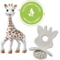 Vulli - Sophie la girafe et chewing rubber So'pure - Dès la naissance