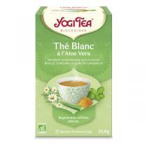 Yogi Tea - Thé blanc Aloé Véra 17 sachets