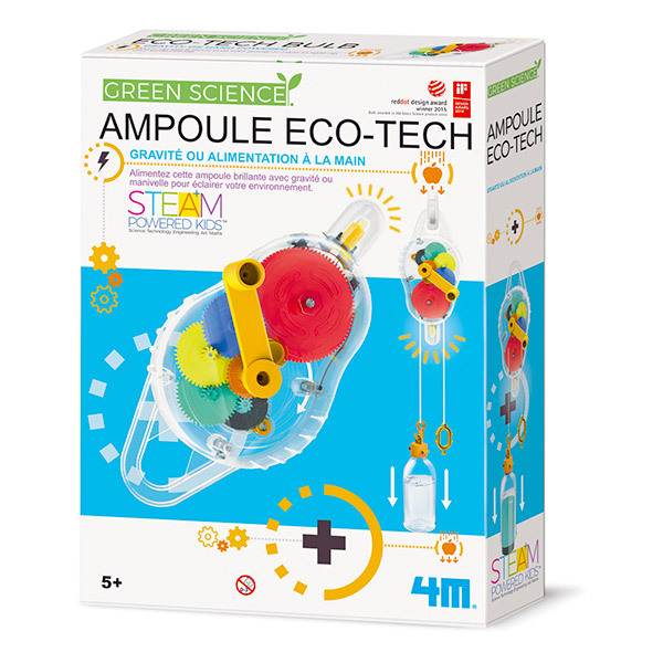 4M - Kit Construction Ampoule eco-tech - Dès 5 ans