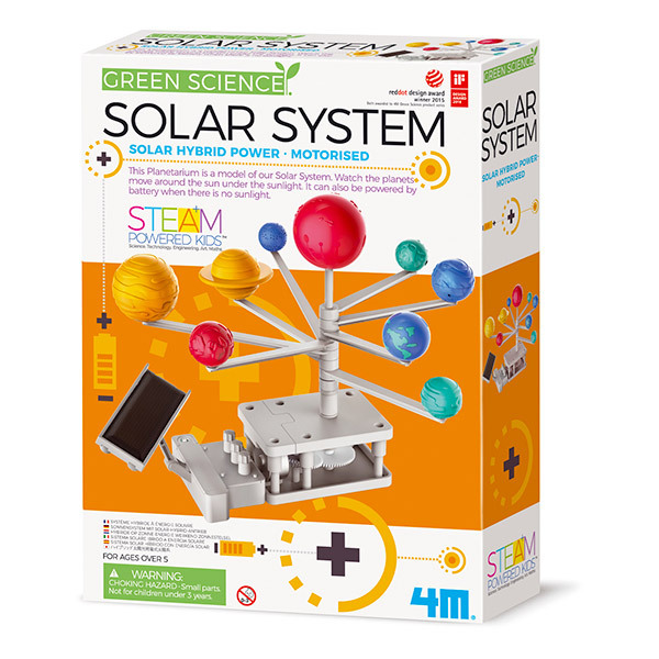 4M - Kit Construction Planetarium Système Solaire - Dès 5 ans