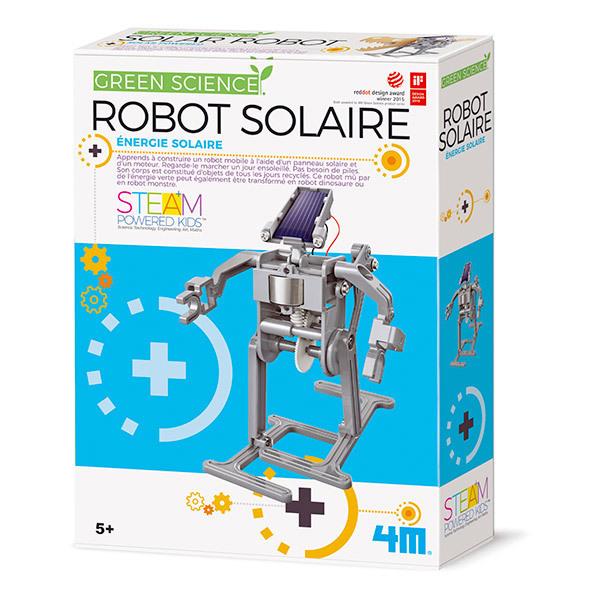 4M - Kit Construction Robot Solaire - Dès 5 ans