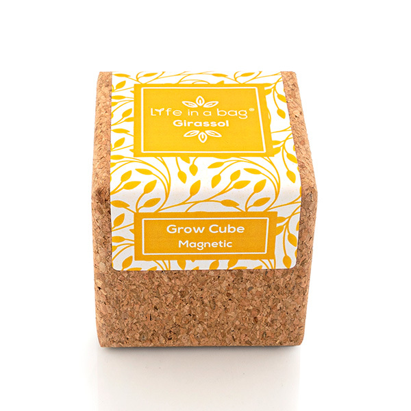 Life in a Bag - Kit de culture aimante Grow Cube tournesol